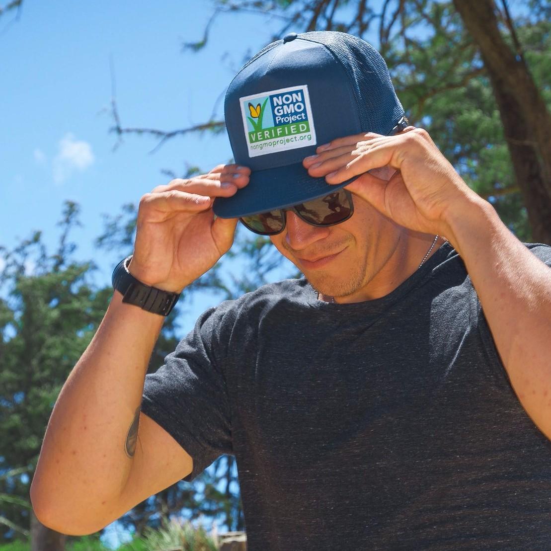 Non-GMO Project trucker cap available online